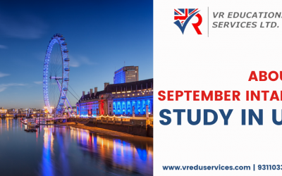 About UK September 2021 study Intake | VR Education Services