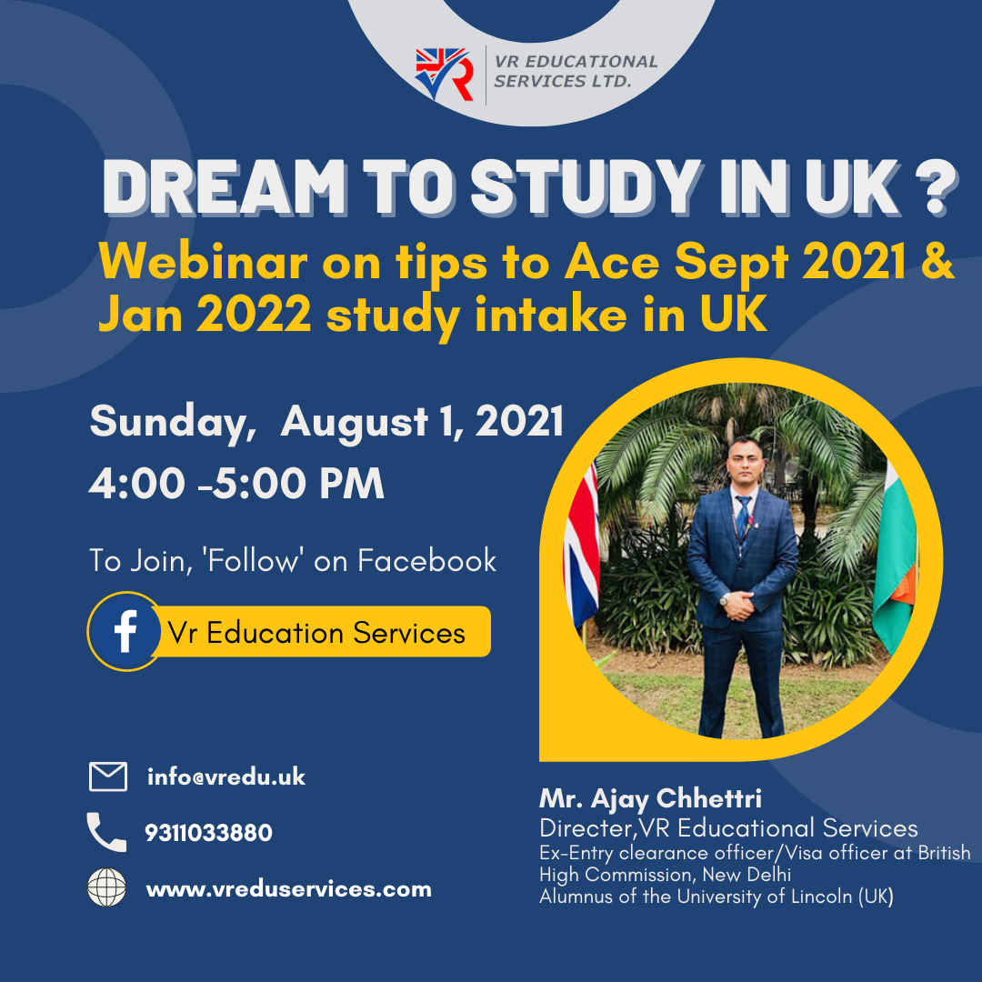 VR Education Services | Study Abroad Consultants
